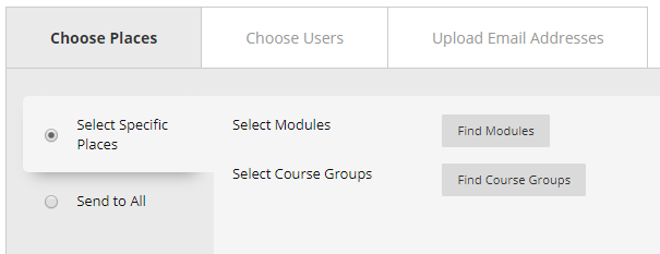 Find Modules button